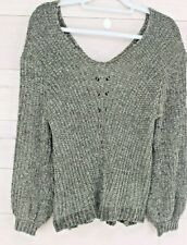 Charlotte Russe Chenille Sweater XS
