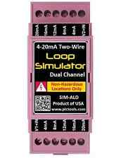 4-20mA Simulator Dual Channel for Generating PLC inputs, Valves, Instrumentation