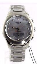GIFT IDEA TISSOT T-TOUCH T075.220.11.106.00 DIGITAL PEARL DIAMOND LADIES WATCH