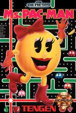 ## SEGA GENESIS - Ms. Pac-Man - TOP (US Mega Drive Spiel) ##