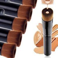 Black Concave Liquid Foundation Brush Makeup Brushes Professional Beauty Tools