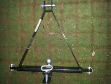 compact tractor cat 1 linkage drawbar and ball hitch towbar narrow small tractor