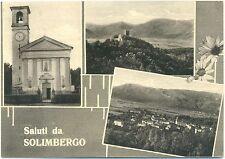 SALUTI DA SOLIMBERGO - VEDUTINE - SEQUALS (PORDENONE) 1963