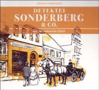DETEKTEI SONDERBERG & CO - UND DER MALAIISCHE DOLCH 2 CD NEW EHRHARDT,DENNIS
