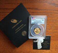 2016 Standing Liberty Centennial Gold Quarter PCGS SP70