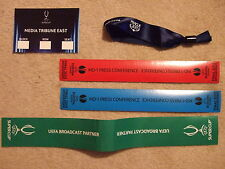 ticket chelsea away v bayern munich 2013 uefa super cup final vip wrist ribbon