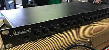 VINTAGE MARSHALL 9000 SERIES 9001 TUBE PRE AMP PREAMP RACK MOUNT W FOOTSWITCH