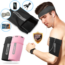 Universal Sport Running Armband Sleeve Phone Holder Workout Exercise Gym Key Bag