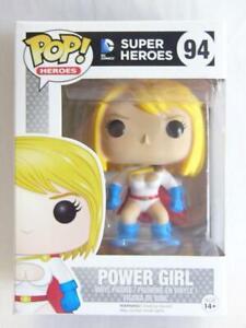 FUNKO POP VINYL   DC SUPER HEROES   POWER GIRL 94 with .6mm Protector
