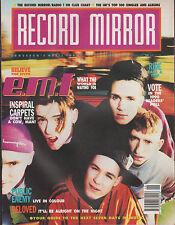 E.M.F. on Magazine Cover 17 November 1990   Pebbles   Beloved   Unique 3