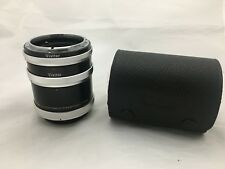 Vivitar Extension Tube Set for Canon FL FD Mount 12mm 20mm 36mm