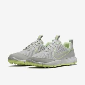 Nike Explorer 2 Golf Shoes Platinum Gray Volt AA1846-001 Womens Size 9.5 New