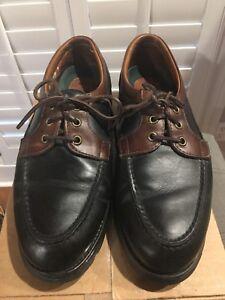 Allen Edmonds Two-tone Casual Shoes Sz 9.5 D Black/ Brown