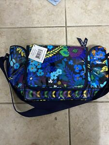 Vera Bradley Stay Cooler Midnight Blues  Insulated Lunch BAG  Tote NWT