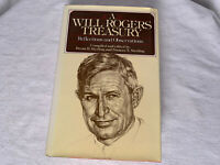 2nd printing 1982 A WILL ROGERS TREASURY REFLECTIONS AND OBSERVATIONS HC DJ