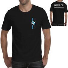 stripes BMW inspired Printed T-Shirt  Motorsports Alpina Mens Logo Racing