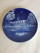 Royal Copenhagen Porcelain B&G Jule-After Christmask Collector's Plate 1991