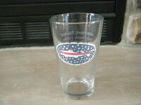 SUPER RARE DOGFISH HEAD STARS & STRIPES PINT GLASS 4TH OF JULY VERY LIMITED HTF