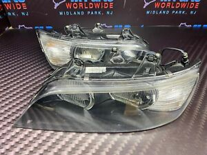 98-02 BMW Z3 ORIGINAL Left Right Headlights Pair