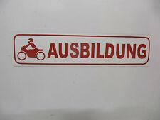Magnetschild, Fahrschule Moped-Ausbildung