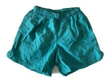 VTG REI Nylon Casual Hiking Shorts Women's Size Small Green Baggies