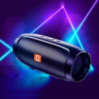 Outdoor Bluetooth Speaker Set Wireless Waterproof Stereo portable Bass FM Radio