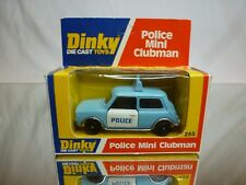 DINKY TOYS 255 MINI CLUMAN POLICE - BLUE 1:43 -VERY  GOOD CONDITION IN BOX