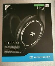 SENNHEISER HD 598 Cs SPECIAL EDITION HIGH END CLOSED BACK HEADPHONES *NEW*