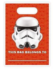 Star Wars Stormtrooper 8 x Party bags (Loot bags) - 253672