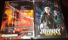 JOHNNY HALLYDAY TRES RARE DVD PROMO HORS COMMERCE ALLUME LE FEU REFERENCE 4611