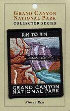 Official Grand Canyon National Park Souvenir Patch Rim to Rim Arizona USA Seller