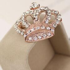 Badge Pin Jewelry Fashion Scarf Corsage Flower Brooch Collar Crown Rhinestone