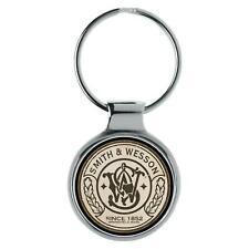 KIESENBERG 3D Schlüsselanhänger Smith & Wesson Key Chain Ring A-90055