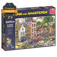 Jumbo 19069 Jan Van Haasteren Friday The 13th 1000 Piece Jigsaw Puzzle