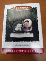 CHRISTMAS 1994 HALLMARK TREE ORNAMENT FROSTY FRIENDS