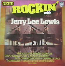 JERRY LEE LEWIS - ROCKIN' WITH JERRY LEE LEWIS - LP