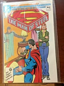The Man of Steel #6 Superman Smallville DC Comics 1986 John Byrne