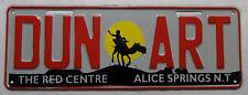 "Nummernschild Australien Northern Australia ""ALICE SPRINGS THE RED CENTRE"".S3730"