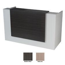 Apex Reception Desk 1500w x 750d BlacklineLine