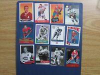 BERNARD BERNIE BOOM BOOM GEOFFRION (22 diff) Cards Montreal Canadiens Parkhurst