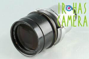Bausch&Lomb Baltar 152mm F/2.7 Lens #34080 E5