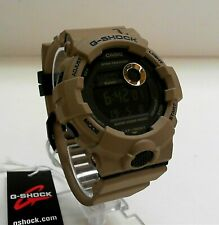 Casio G-Shock GBD-800UC-5 Khaki Step Tracker Dual Time G-Squad Watch