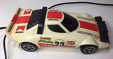 Vtg Lancia Alitalia Toy Car Electric 23 Universal Associated Co 1978