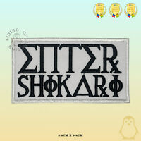 Enter Shikari Music Band Embroidered Iron On Sew On Patch Badge For Clothes etc