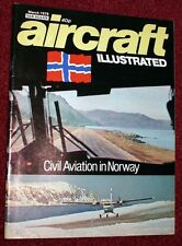 Aircraft Illustrated 1978 March RAF 100 Squadron,Norway,Stampe