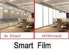 PDLC Electrochromic Film Smart Film Starter Kit Switchable Glass 15cm x 15cm