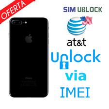 Premium FACTORY IMEI UNLOCK SERVICE AT&T CODE ATT for IPhone 5 5S 6 6s SE 7 8 X