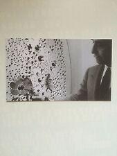 LUCIO FONTANA, Private view invitation card, Gagosian gallery, 2012