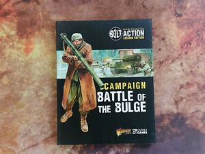 Battle of the Bulge Campaign Book - Bolt Action Second Edition - Warlord Games