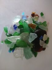 30 pieces of good quality sea glass, various colours and sizes
